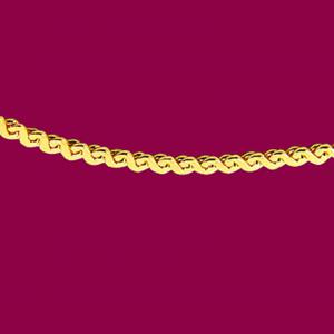 S鍊-義大利金項鍊