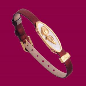 鬱金香-黃金皮手鍊