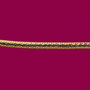 單色璀璨鍊-義大利金項鍊
