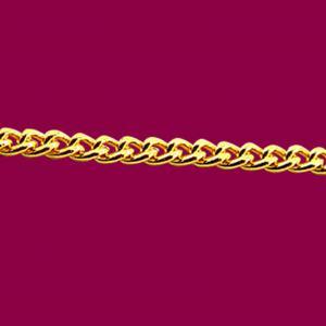 單繕鍊-義大利金項鍊