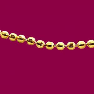 單色水晶鍊-義大利金項鍊