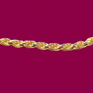 機索鍊-義大利金項鍊