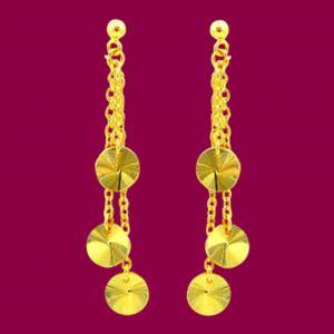 緣份-黃金耳環
