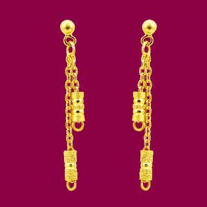 牽伴-黃金耳環