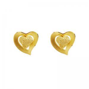 心動-黃金耳環