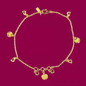 代代平安-黃金腳鍊