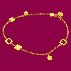 心願-黃金腳鍊