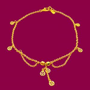福祿壽-黃金腳鍊