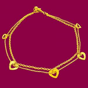 愛我的心-黃金腳鍊