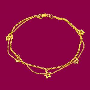 閃亮之星-黃金腳鍊