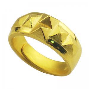 凱旋戒-黃金男士金飾