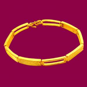 個性佳人-黃金手鍊