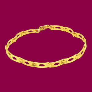 素顏-黃金手鍊