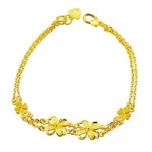 百花齊放-黃金手鍊