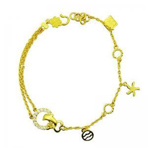 海洋世界-黃金手鍊