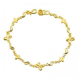 隨心相伴-黃金手鍊