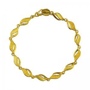 浪漫邂逅-黃金手鍊