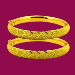 典雅-黃金手鐲