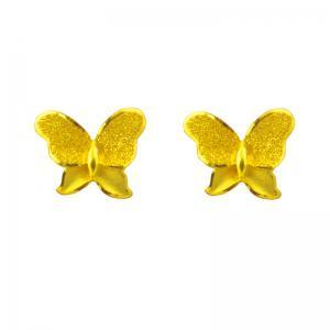蝶姿-黃金耳環