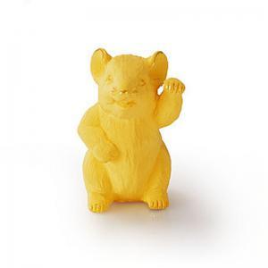 迷你寫實生肖鼠-黃金金飾禮品
