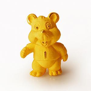 極迷你生肖鼠-黃金金飾禮品