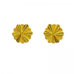 愛在旋轉-黃金耳環