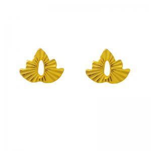 舞葉-黃金耳環