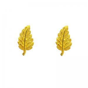 楓釆-黃金耳環