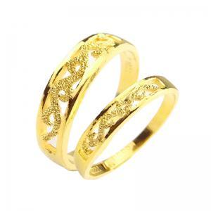 漾動-黃金結婚對戒