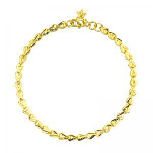 緊扣緣份-黃金手鍊