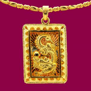 祥龍福墜鍊(約14.1錢)-黃金男士金飾