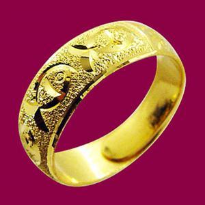 年年有餘-黃金男士金飾