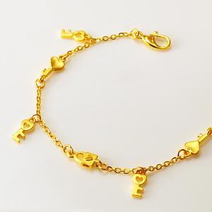 幸福心鎖-黃金精品